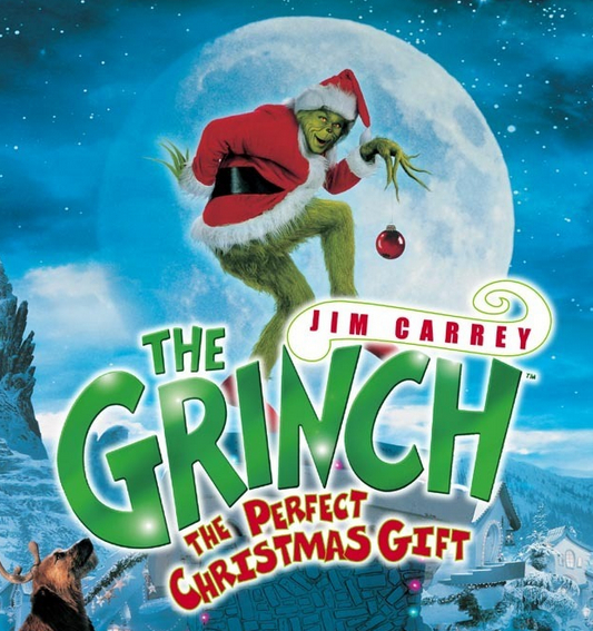 "Jim Carrey as the Grinch: ""All I want for Christmas is you!"""