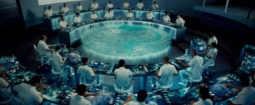 The Hunger Games (2012) Control Room