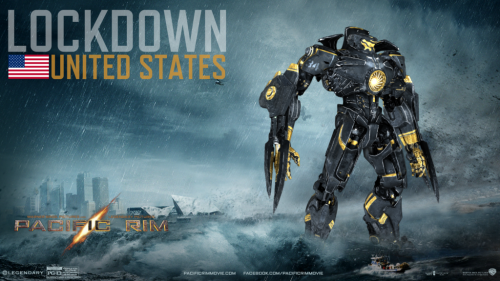 Lockdown United States: Custom-built Jaeger inspired by Pacific Rim (2013)