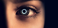 Pupil: the tiny image one sees of himself reflected in the eye of another; from The Host.