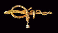 Secretary of State Madeleine Albright's Serpent Jewelry