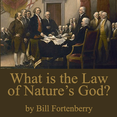 What is the Law of Nature's God?