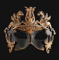 Venetian Men's Bronze Mask