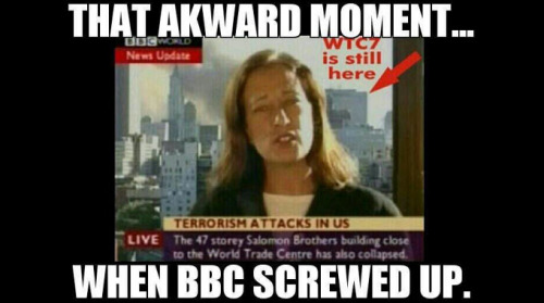 Awkward: BBC Reports WTC-7 Collapse Before It Happens!