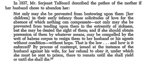 In 1837, a Husband issued process of contempt against his wife, and she went to prison.