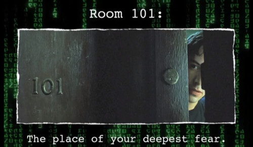 Room 101: Keanu Reeves in the Wachowski's Classic Film, The Matrix
