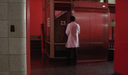 The Omen 2: Doctor with Evidence of Beast Blood Waits for Elevator (23 Chromosomes)