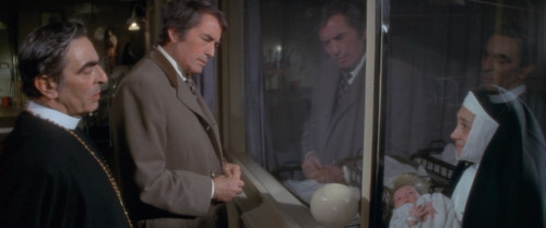 The Omen: Gregory Peck as Robert Thorn Reflects on whether to Invest in the Antichrist