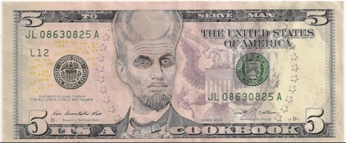 It's a Cookbook! James Charles' Ink Drawings on U.S. Bank Notes