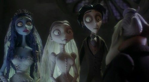 Victor Van Dort and Victoria Everglot are to be Married in Tim Burton's The Corpse Bride (2005)