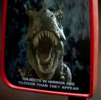 Jurassic Park, Objects in Mirror