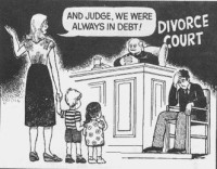 And Judge We Were Always in Debt