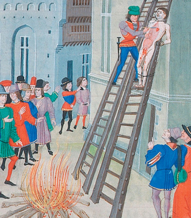 Punishment for Treason: Drawing, Hanging, Beheading, and Quartering