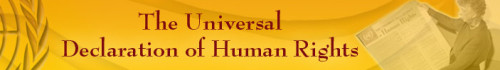 United Nations - The Universal Declaration of Human Rights