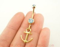Navel Jewelry: Anchors Away!