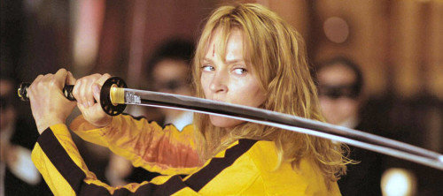 Use your Hattori Hanzo! The Bride Gets Revenge in Kill Bill 1 and 2.