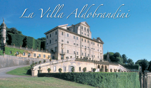 Headquarters for Satanic UNIDROIT is located at Villa Aldobrandini