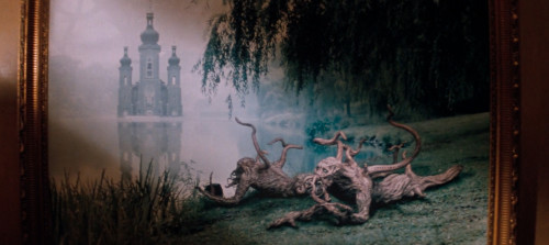 Adam & Eve Trees with Castle - In the Mouth Of Madness by John Carpenter