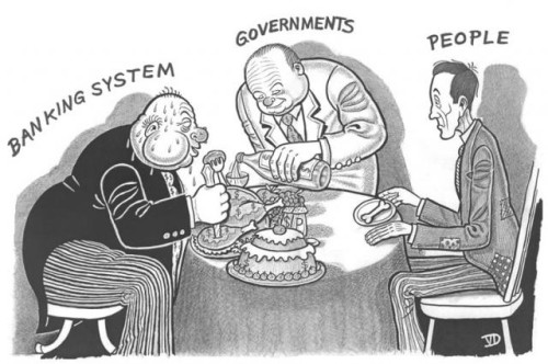 Banking Systems, Governments, and People: Who Eats and Who Doesn't?