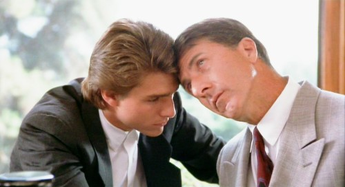 Dustin Hoffman and Tom Cruise Star in Barry Levinson's Rain Man (1988)