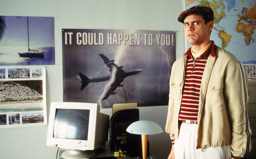 "Jim Carey, The Truman Show: ""It could happen to you!"""