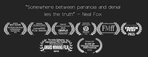 Neal Fox The Conspiracy Project Film Awards