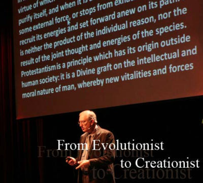 Walter Veith Evol to Creation