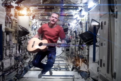 In 2013 Chris Hadfield recorded his own cover of Bowie's song Space Oddity.